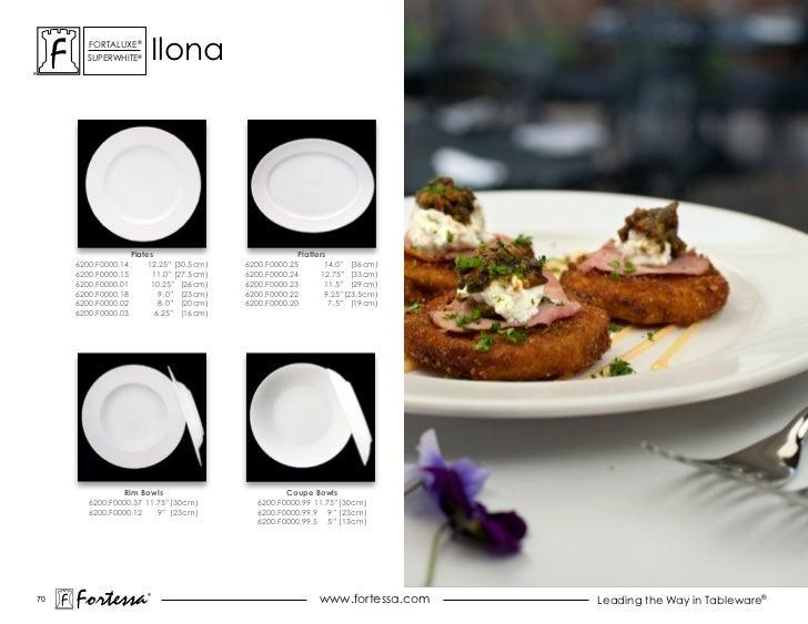 ForTaLuxe®       suPerWhiTe®           ilona                     Plates                              Platters     6200.F00...