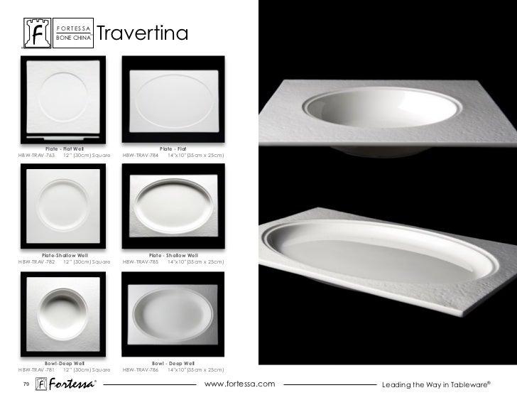 ForTessa             BoNe chiNa                          Tm                                   Travertina         Plate - F...