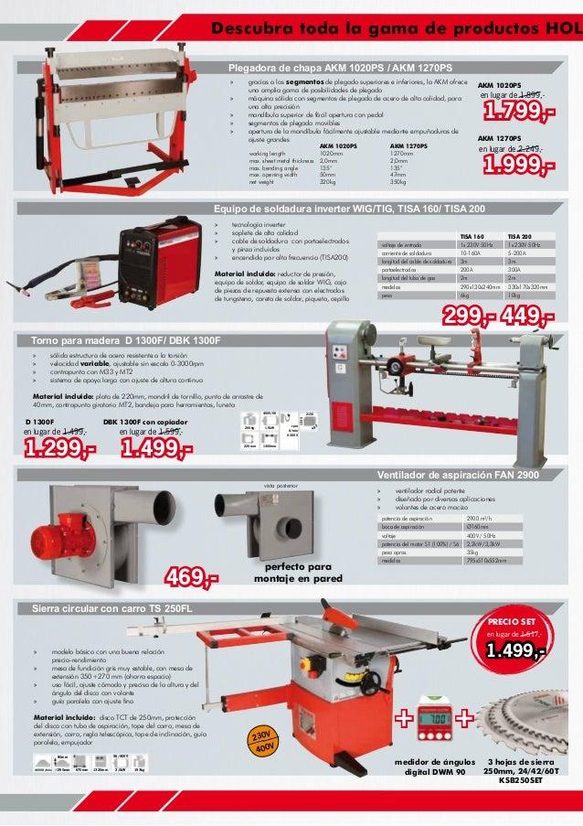 Catalogo ofertas invierno europea de maquinaria Slide 2