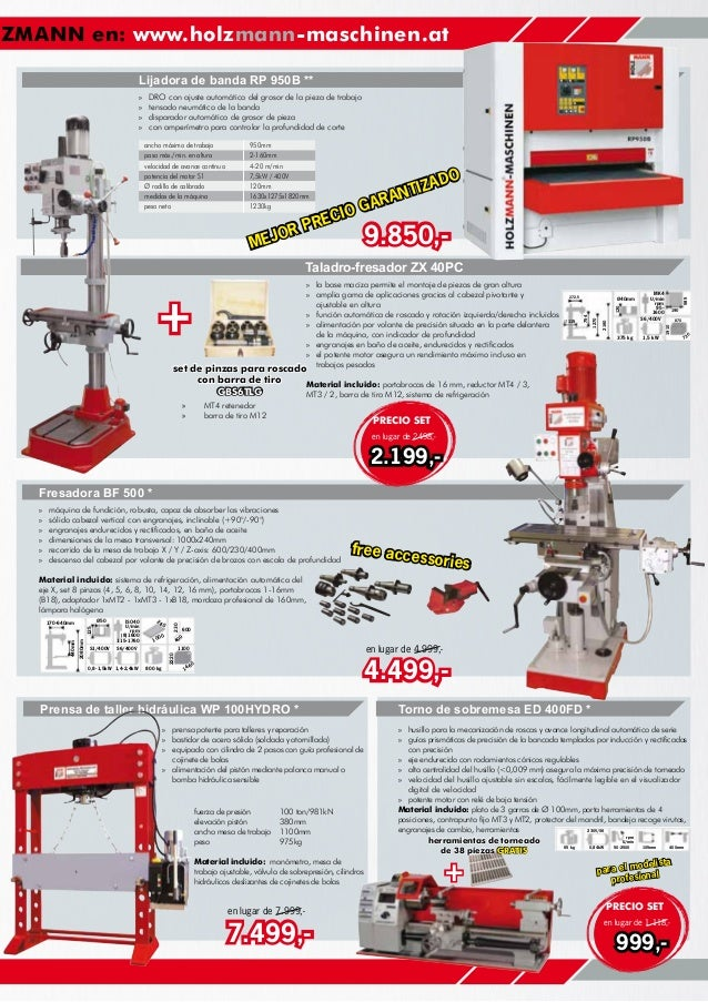 Catalogo ofertas invierno europea de maquinaria Slide 3