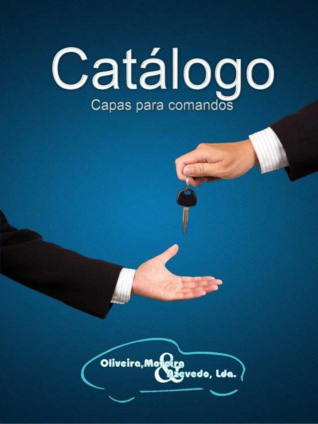 Catálogo capas de chave auto