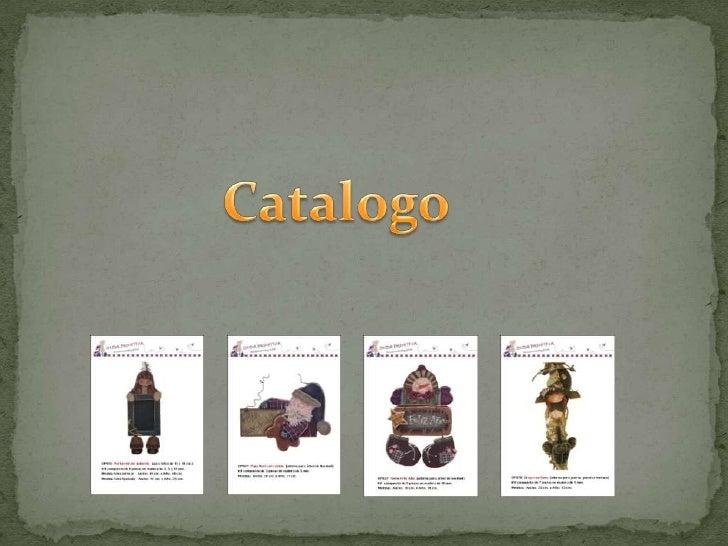 Catalogo <br />