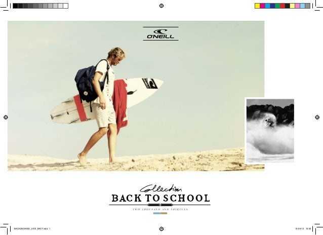 BACK TO SCHOOL TWO THOUSAND AND THIRTEEN BACK2SCHOOL_2013_BKLT.indd 1 13-09-12 10:00