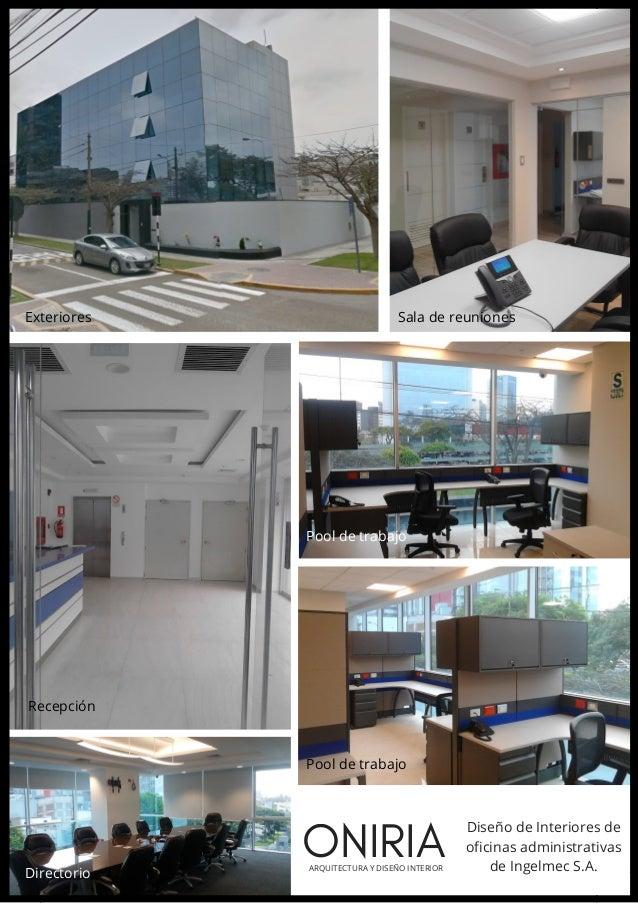 Catalogo oniria arquitectura oficinas 2017 for Catalogo arquitectura