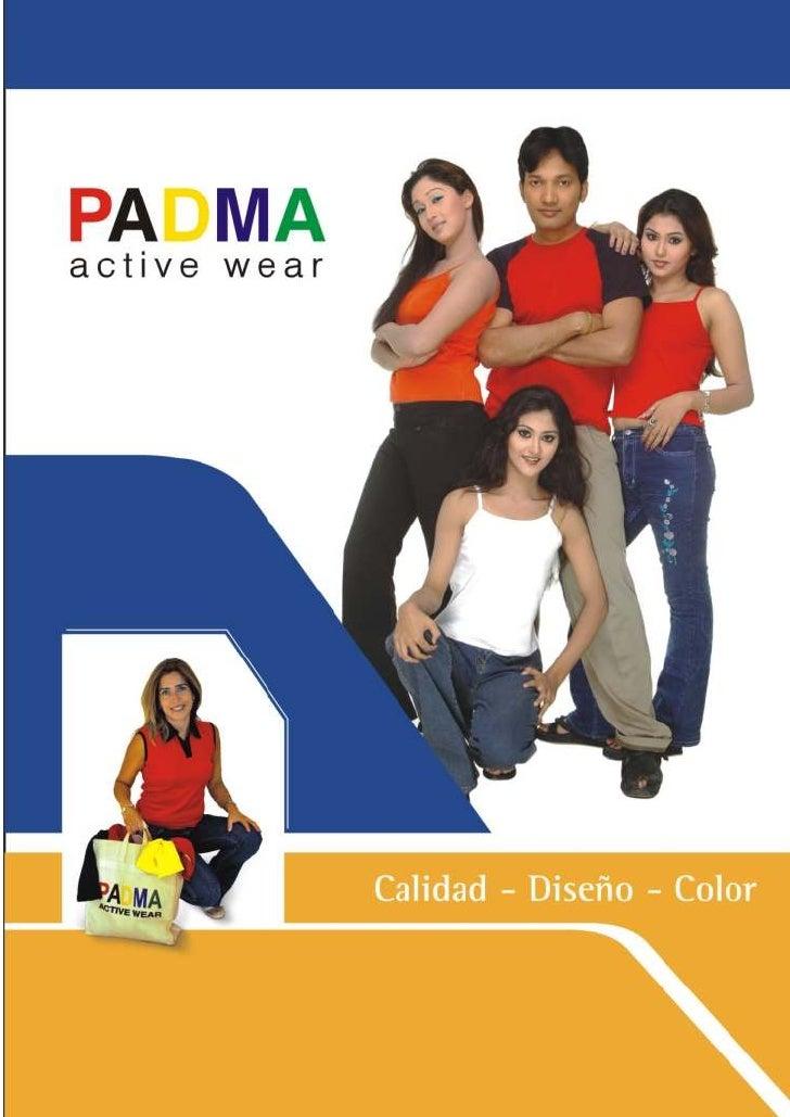 Catalogo Padma