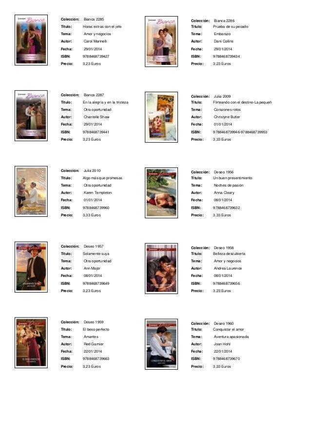 Harlequin bianca pdf gratis - Libros harlequin gratis ...