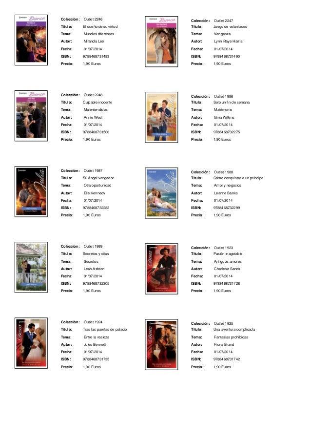 Catalogo pdf harlequin julio 2014 for Catalogo pdf