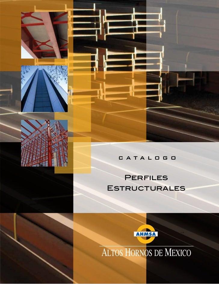 CATALOGO   PerfilesEstructurales