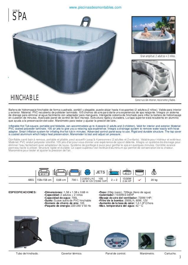 Catalogo piscinas toi 2014 for Piscina rigida rectangular