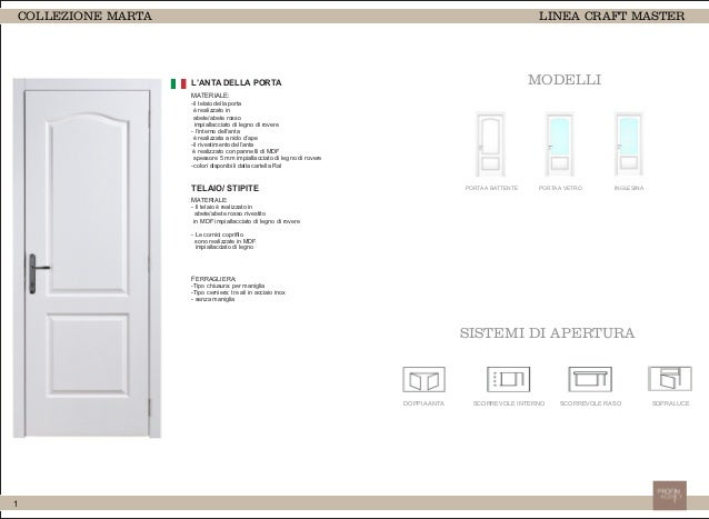 Catalogo Porte interne Marta Slide 2