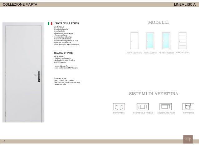 Catalogo Porte interne Marta Slide 3