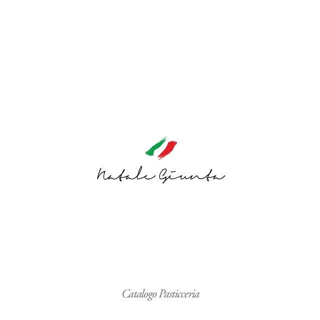 Catalogo Pasticceria
