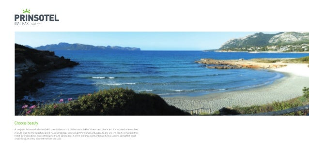 brochure 2017 prinsotel hotels and apartments in majorca and minorca