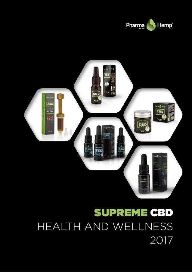 SUPREME CBD HEALTH AND WELLNESS 2017