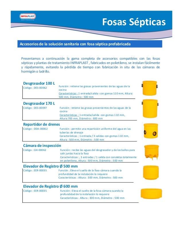 Catalogo productos 2012 2 - Productos para fosas septicas ...