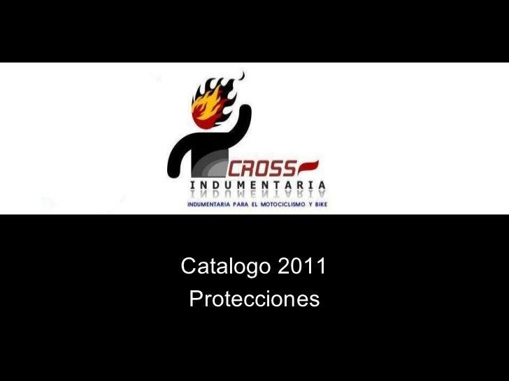 Catalogo 2011 Protecciones