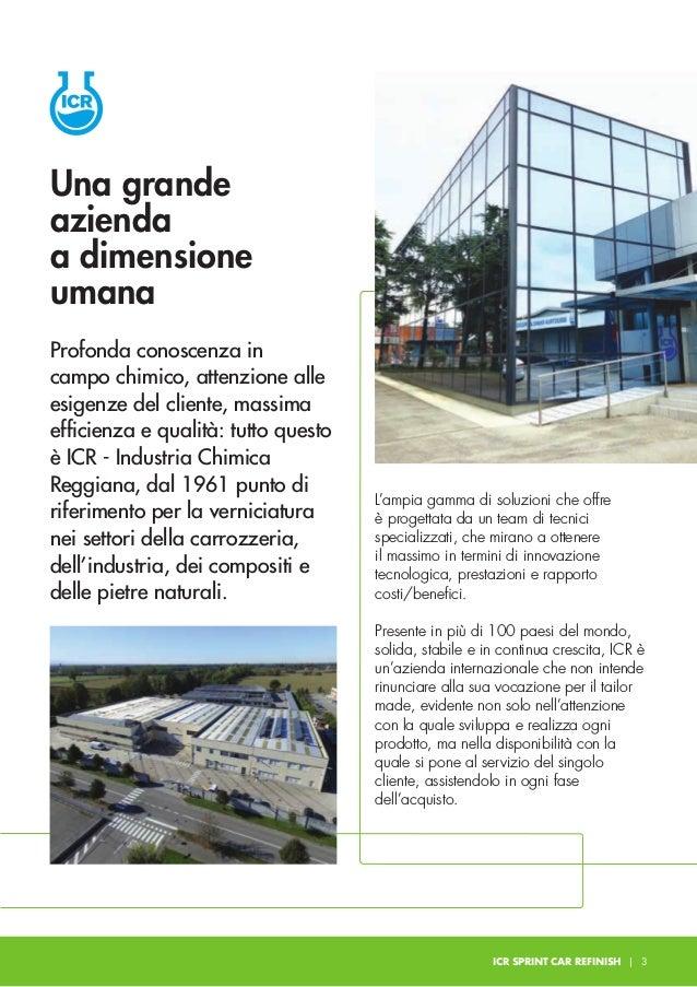 ICR nasce e da subito si dedica alla produzione di articoli chimici per carrozzeria e pietre naturali. 1961 ICR entra nel ...
