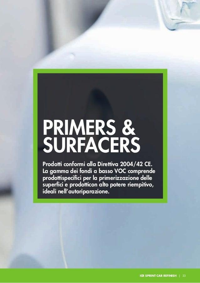 F56/F57/F58/F59 GT ACRYFILLER HS Fondo acrilico a due componenti alto solido e basso contenuto di solvente adatto per lavo...