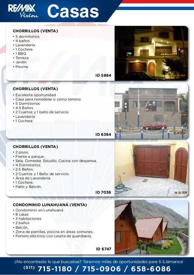 Catalogo remax vision for Catalogo casa