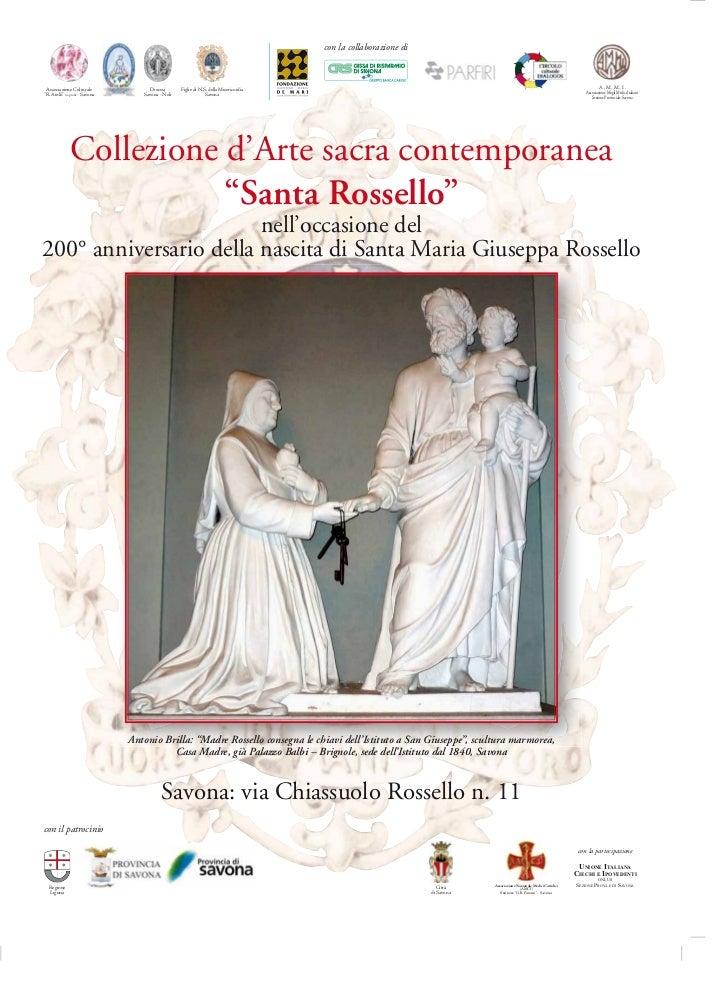 con la collaborazione di Associazione Culturale              Diocesi      Figlie di N.S. della Misericordia               ...