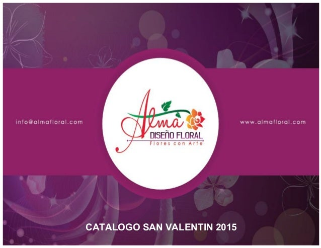 CATALOGO SAN VALENTIN 2015
