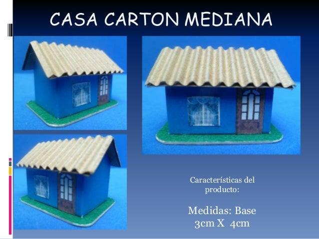 Catalogo de maquetas - Como hacer una casa de carton pequena ...