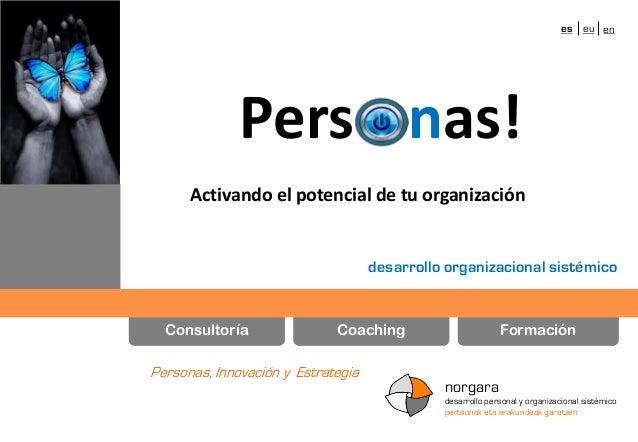 es eu en  Pers nas! Activando el potencial de tu organización  desarrollo organizacional sistémico  Consultoría  Coaching ...