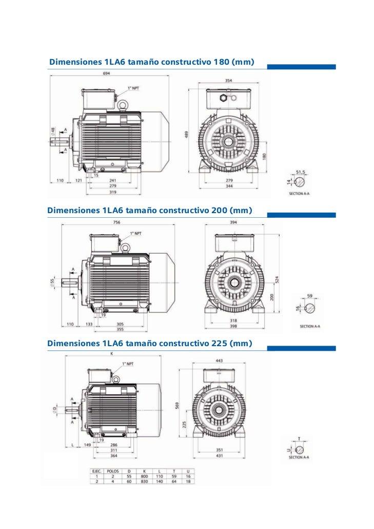 Catalogo Siemens Motores Trifasicos