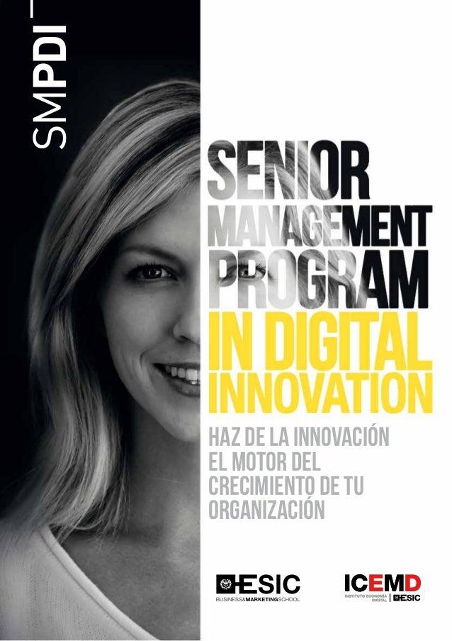 SMPDI Haz de la innovación el motor del crecimiento de tu organización