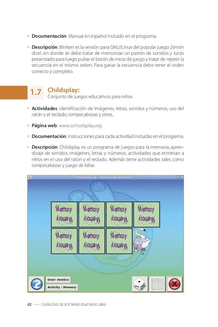 programas de software libre educativo
