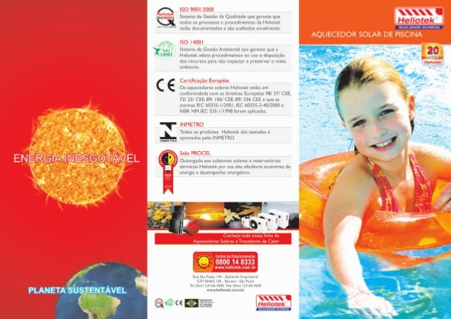 Catalogo solar de piscina heliopool for Piscinas hipercor catalogo