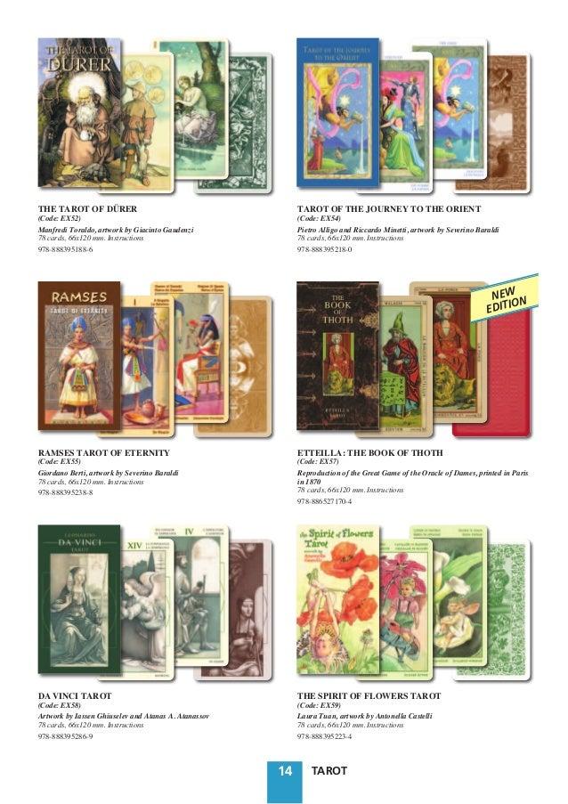 Decameron Tarot Deck Boxed 78 Card Set With Instruction: Catalogo Tarot Lo Scarabeo