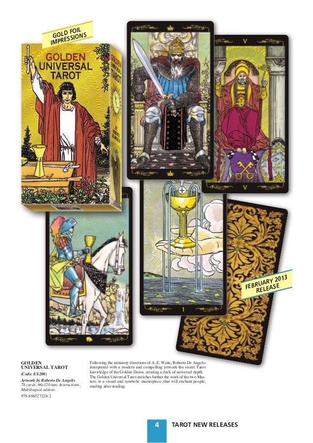 Golden Universal Tarot Reading: Catalogo Tarot Lo Scarabeo