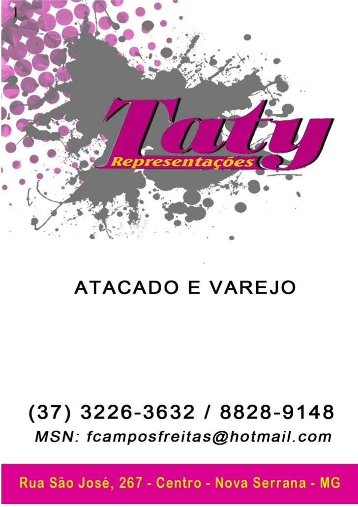 Tenis esportivo - Catalogo Setembro - Taty Representacoes