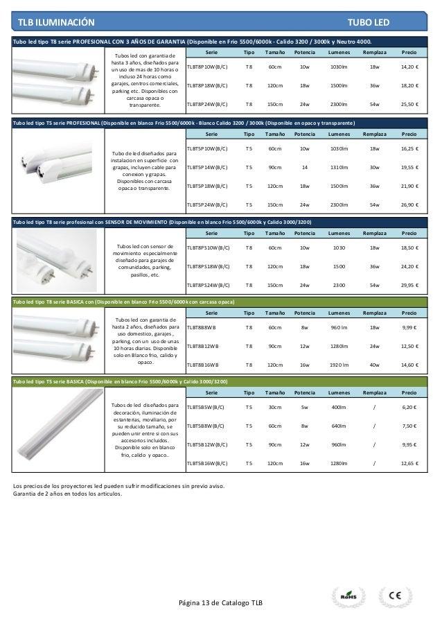 Catalogo tlb 2014 pvp ver 1 1 - Tlb iluminacion ...