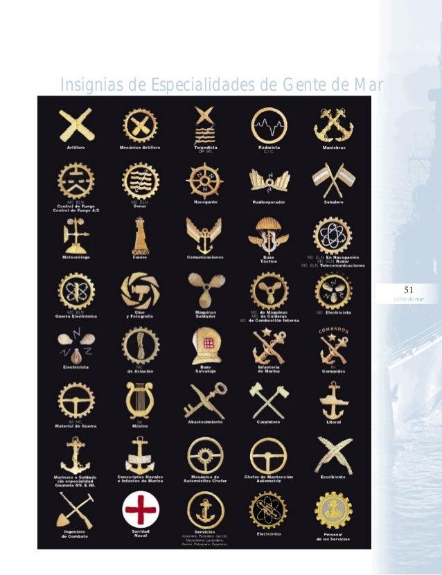 f99c36f3c37 51 gente de mar Insignias de Especialidades de Gente de Mar; 51.