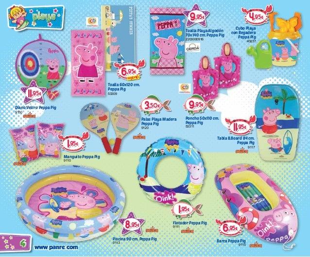 Cat logo verano 2014 juguetes puppen toys panre for Peppa pig en la piscina