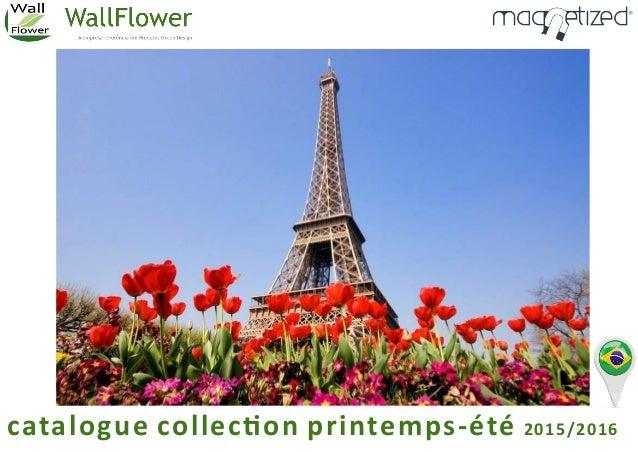 catalogue collec on printemps-été 2015/2016