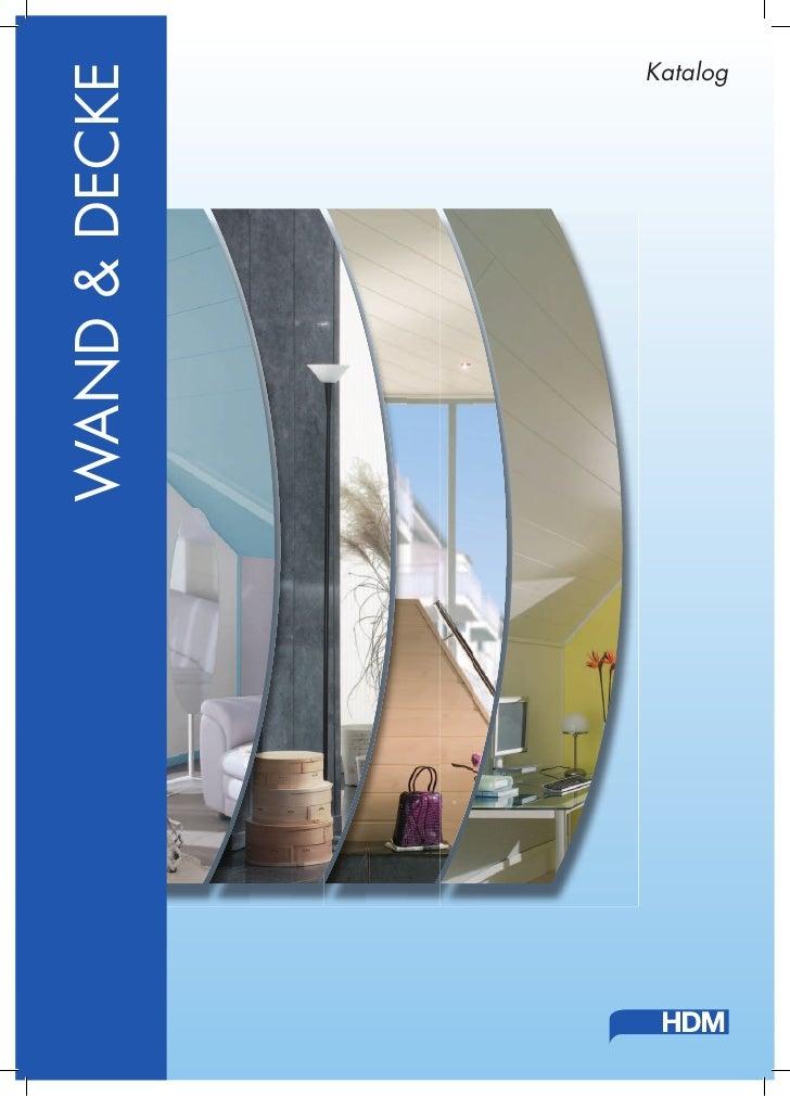 WAND & DECKE           Katalog