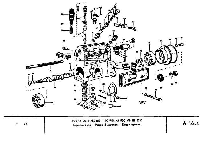 Catalog piese schimb tractor