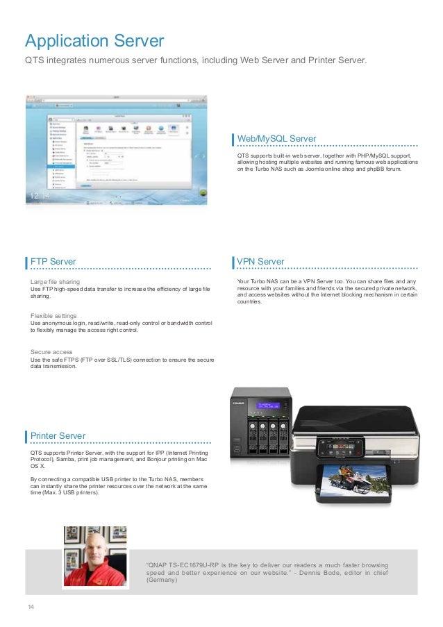 Catalog QNAP NAS QTS 4 1
