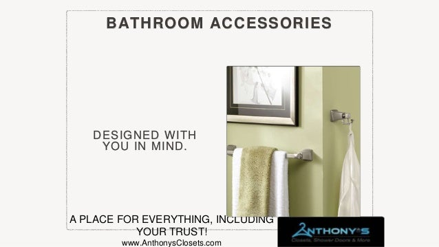 Anthony S Closets Shower Doors And More Catalog
