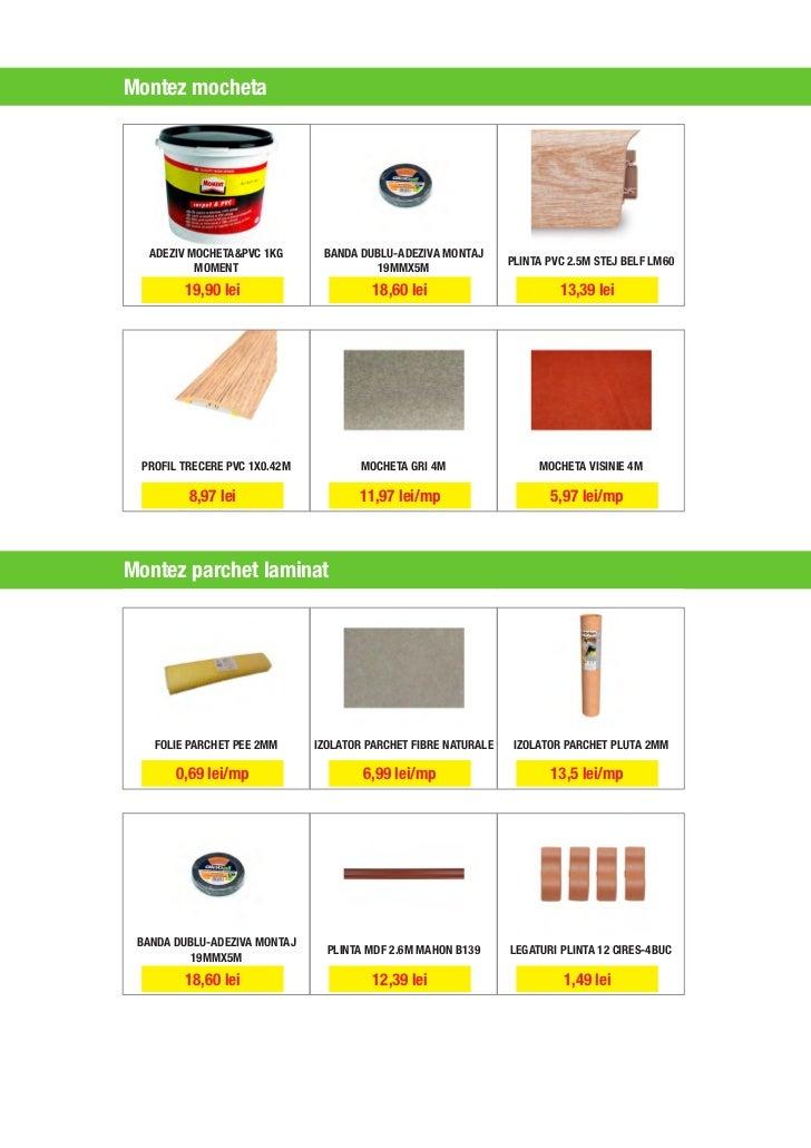 Catalog leroy merlin super afacere martie for Linoleum prezzi leroy merlin