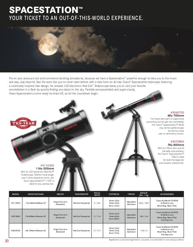 Catalog TASCO | Optics Trade | 2015