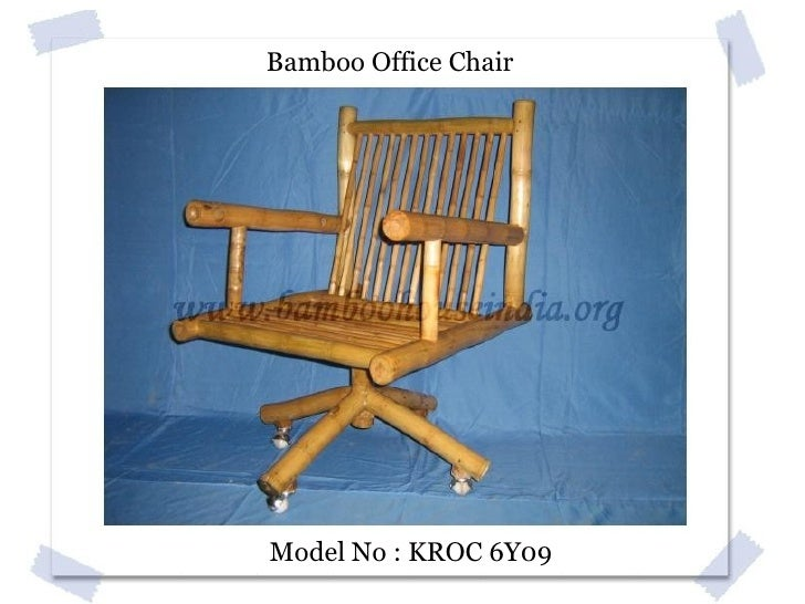 Bamboo Sofa Set Model No : KPSS 6T7 ...