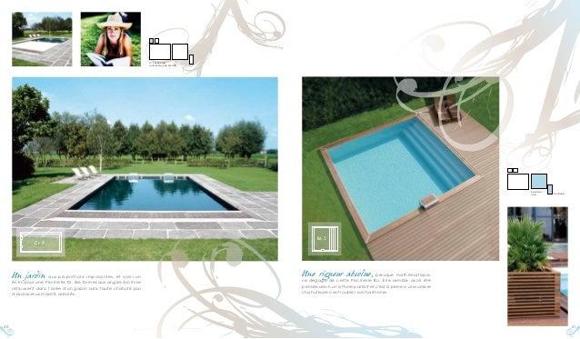 Catalogue piscine piscinelle 2010 la piscine comme une for Catalogue piscine