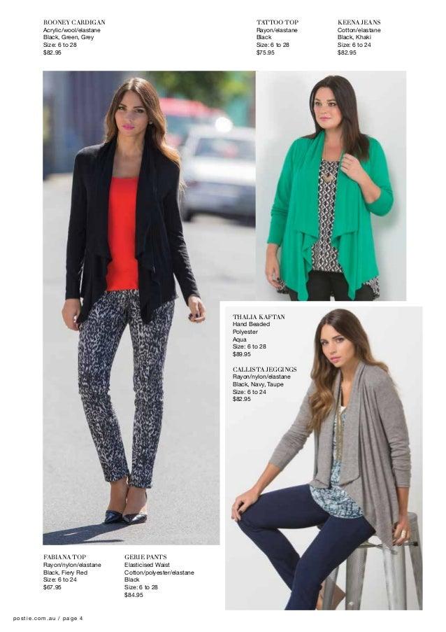 6a73e7d0f02 Postie Fashions Winter 2014 Catalogue