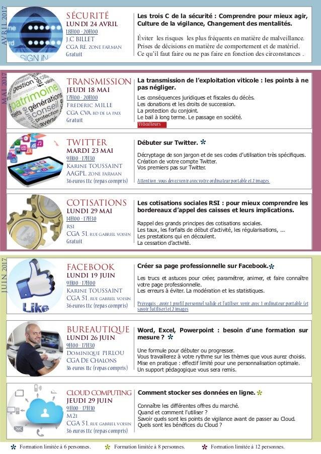 Formation du cga de reims for Castorama reims 51 catalogue