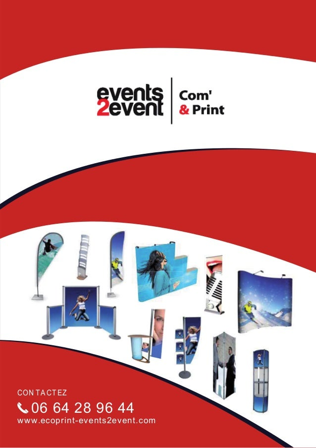 CON TA CT EZ   06 64 28 96 44w w w.ecoprint-events2event.com