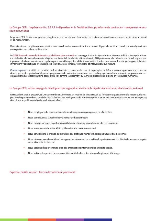 3 Le Groupe CESI: l'expérience d'un S.E.P.P. indépendant et la flexibilité d'une plateforme de services en management et ...